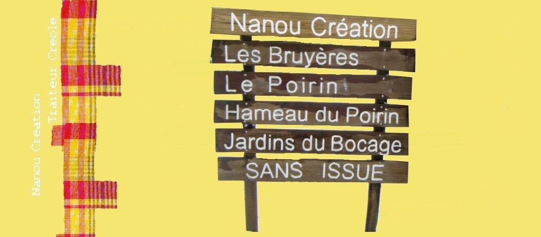 Nanou Création traiteur créole St Sauveur de Landemont (49)