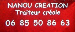 Nanou Création traiteur créole dans les Mauges