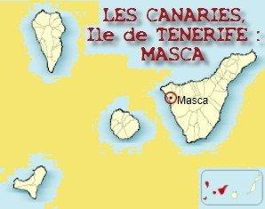 LES CANARIES ILE DE TENERIFE A MASCA CARTE présentée par Nanou Création traiteur créole