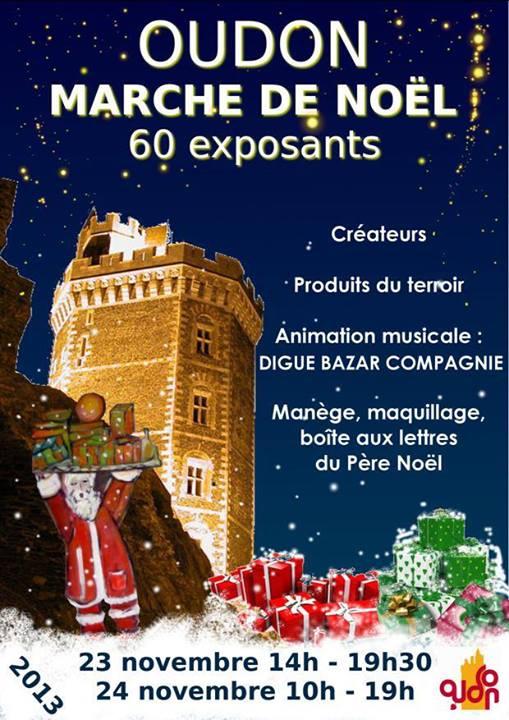 MARCHE DE NOEL D'OUDON présenté par Nanou Création Traiteur à thème